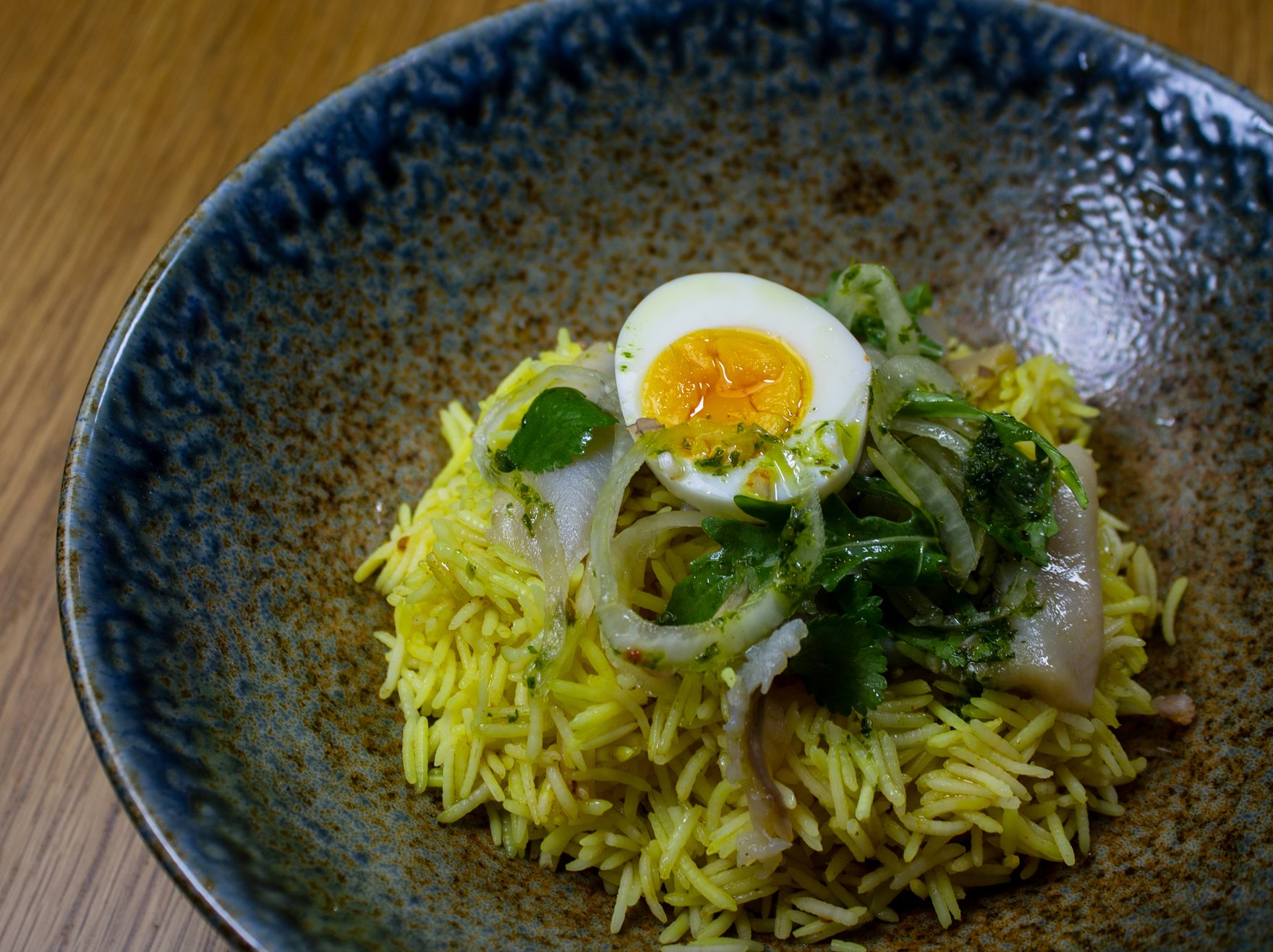James Street Cookery School: Kedgeree and Trout with baby gem and peas