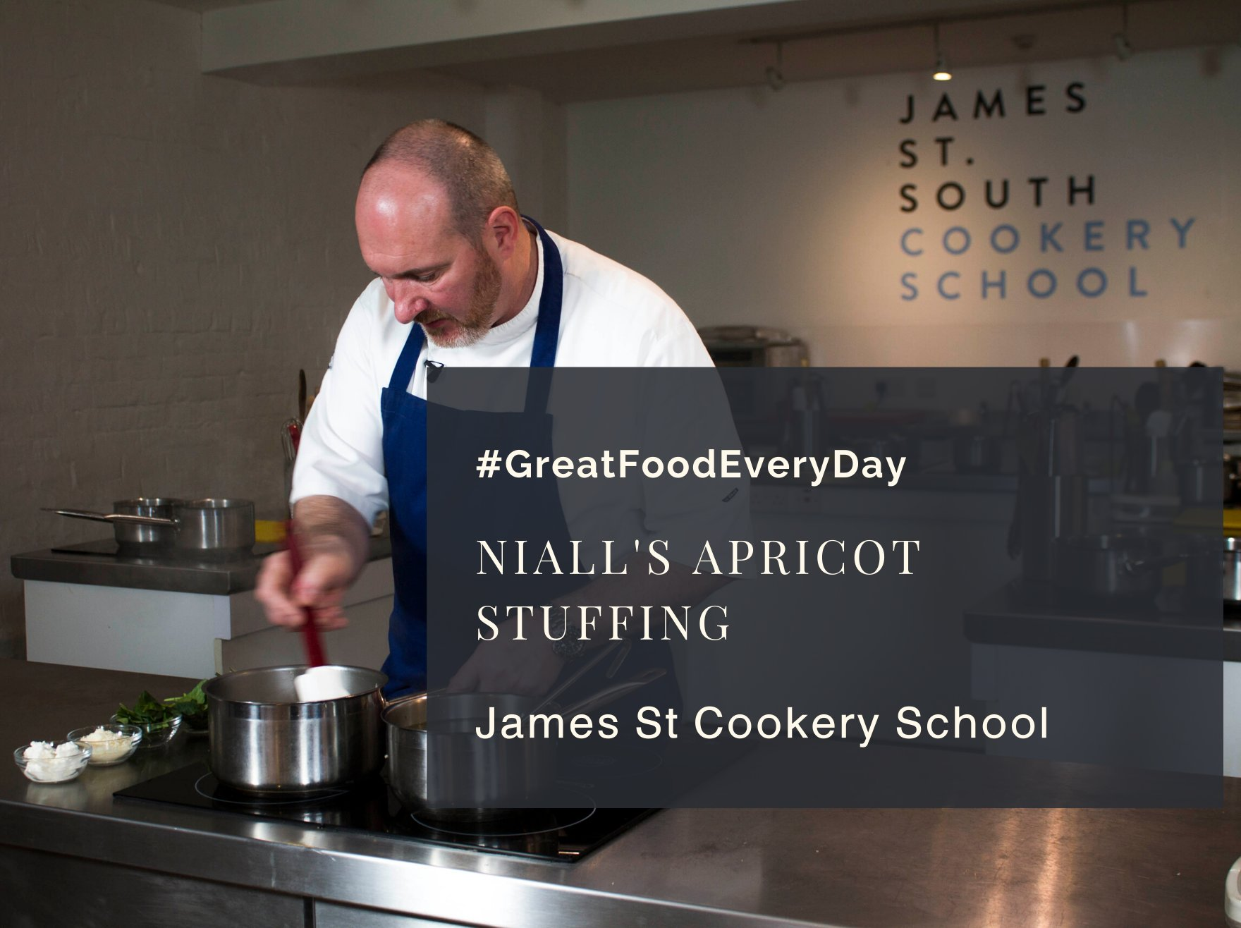 Niall's Apricot Stuffing | James St