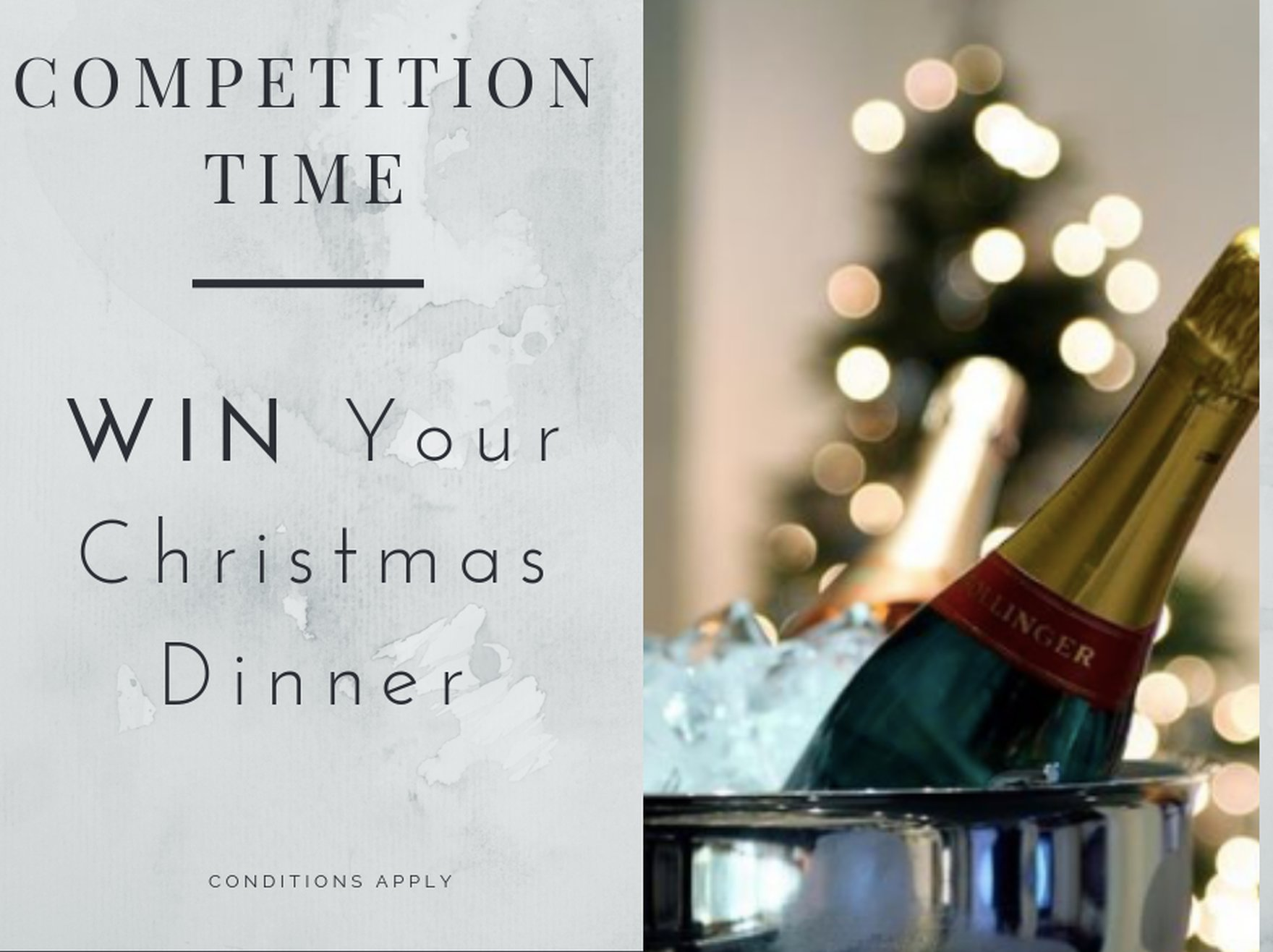 Win a James St Christmas Dinner